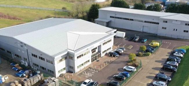 Central Pharmas two buildings in Haverhill, UK